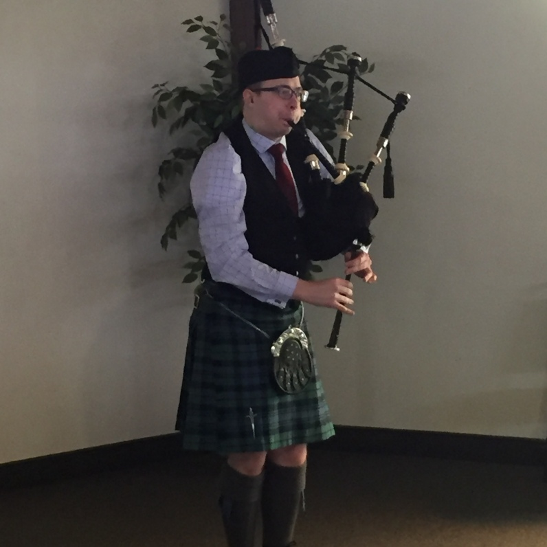Angus performing his MSR at the March 2017 BPS meeting